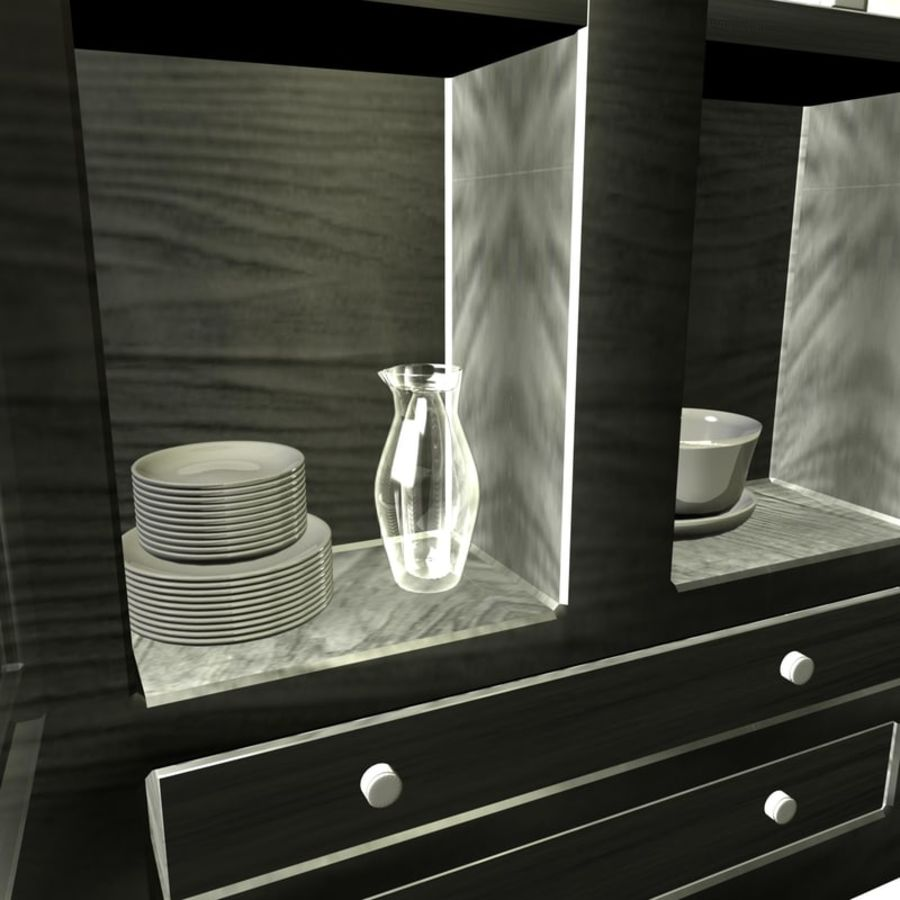 furniture royalty-free 3d model - Preview no. 6