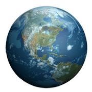 Dia da Terra / Noite 3d model