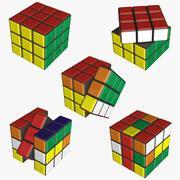 Rubik-kubus 3d model