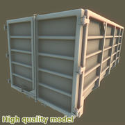 Grote containerafval 3d model