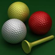 Balle de golf 3d model