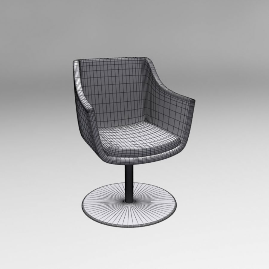 Chair 001 royalty-free 3d model - Preview no. 5