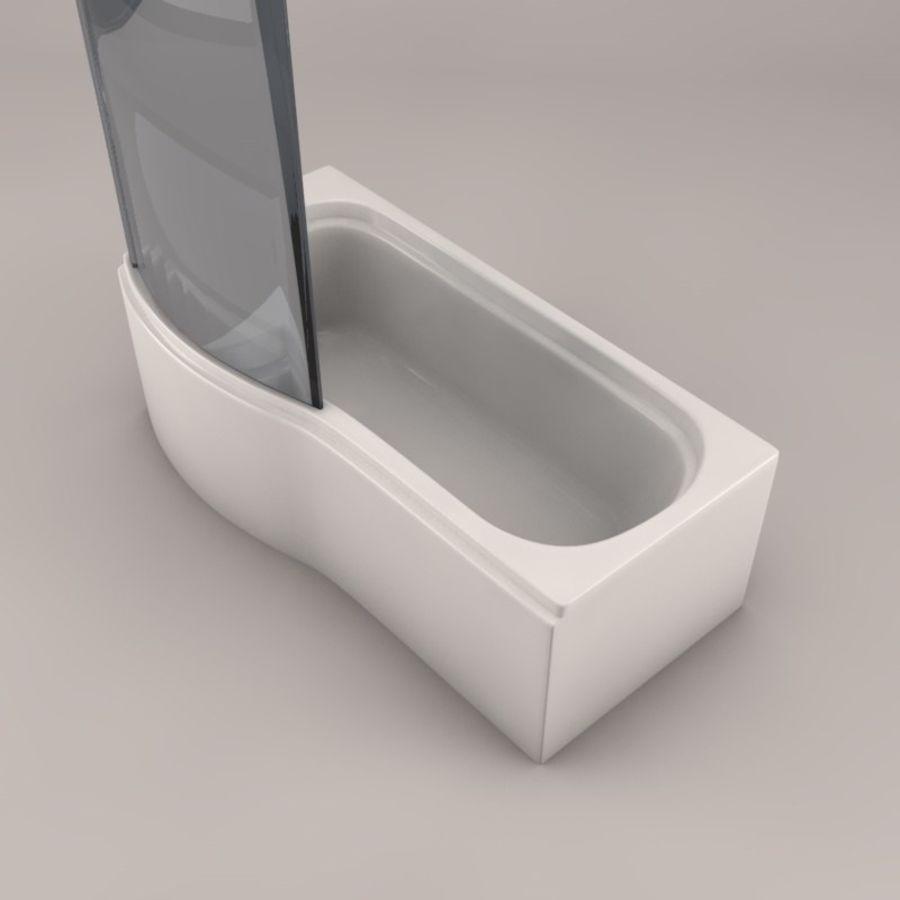 Banho de banheira royalty-free 3d model - Preview no. 6