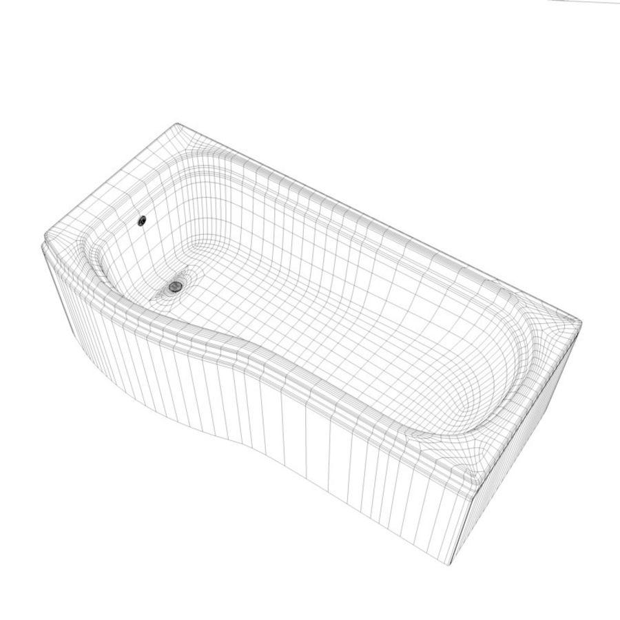 Banho de banheira royalty-free 3d model - Preview no. 8