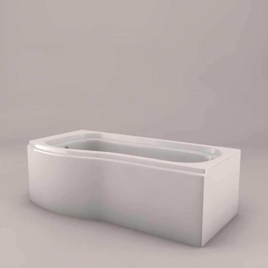 Banho de banheira royalty-free 3d model - Preview no. 5