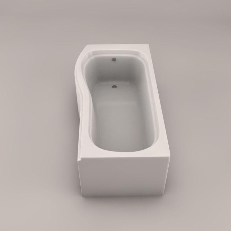 Banho de banheira royalty-free 3d model - Preview no. 4