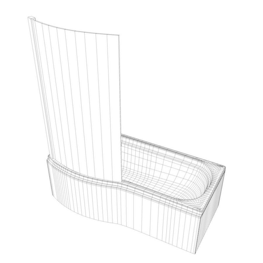 Banho de banheira royalty-free 3d model - Preview no. 9