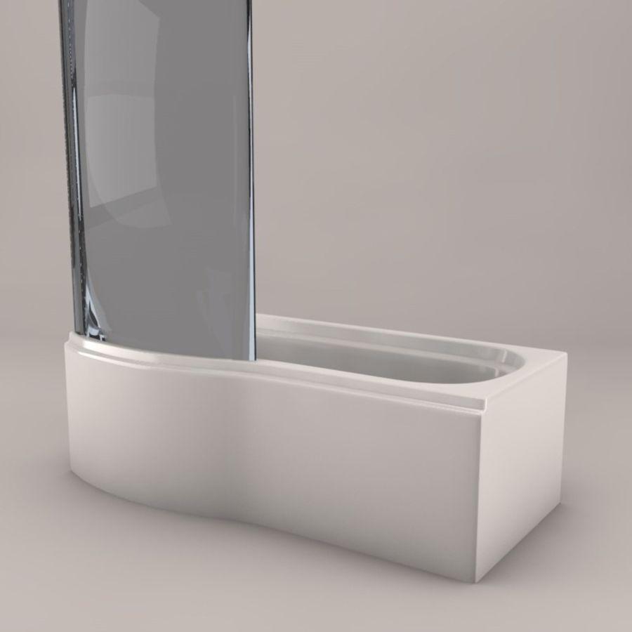 Banho de banheira royalty-free 3d model - Preview no. 7