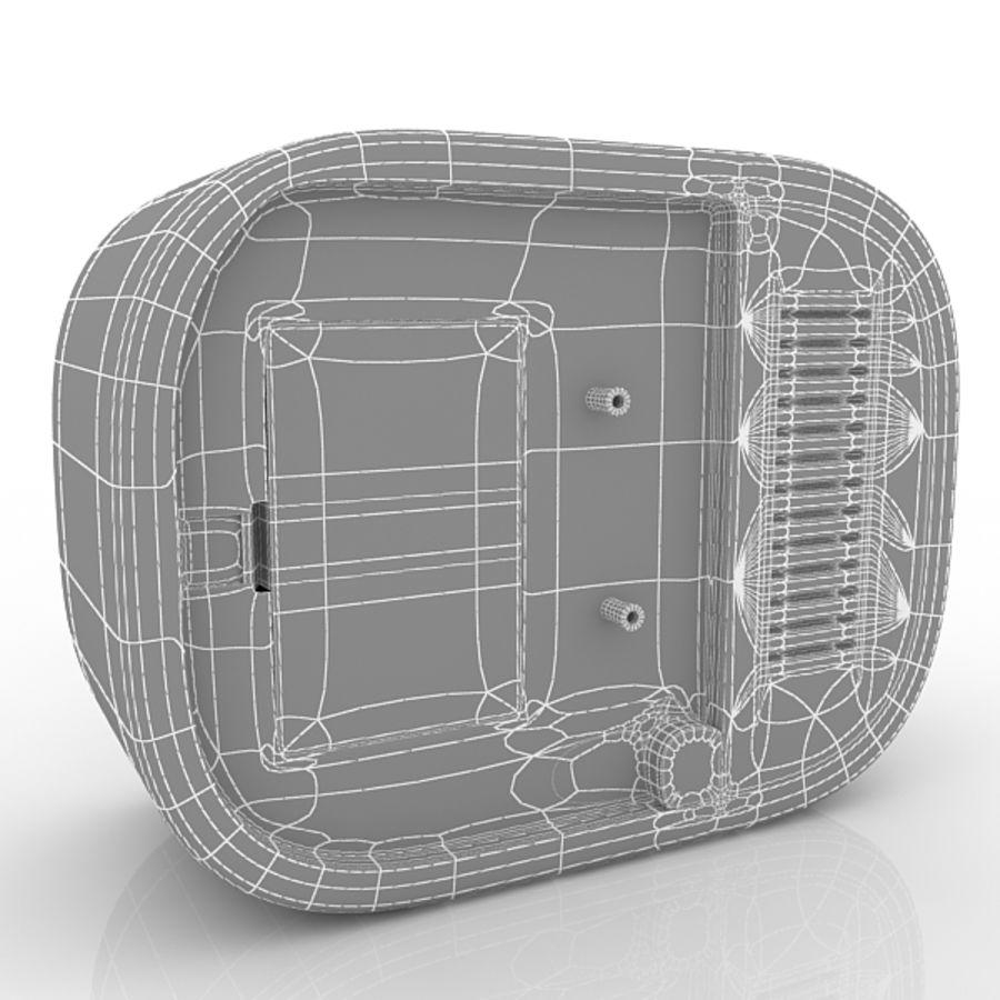 Relógio de mesa royalty-free 3d model - Preview no. 5