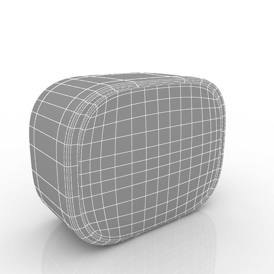 Relógio de mesa royalty-free 3d model - Preview no. 4