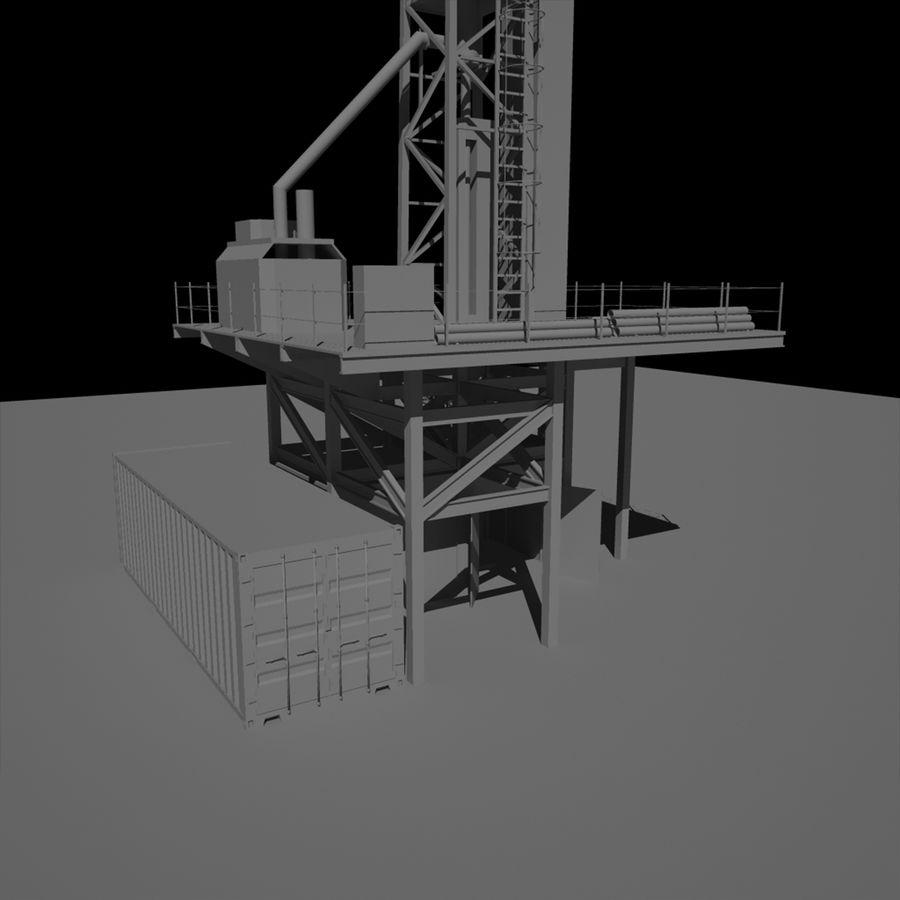 Wiertarka royalty-free 3d model - Preview no. 6