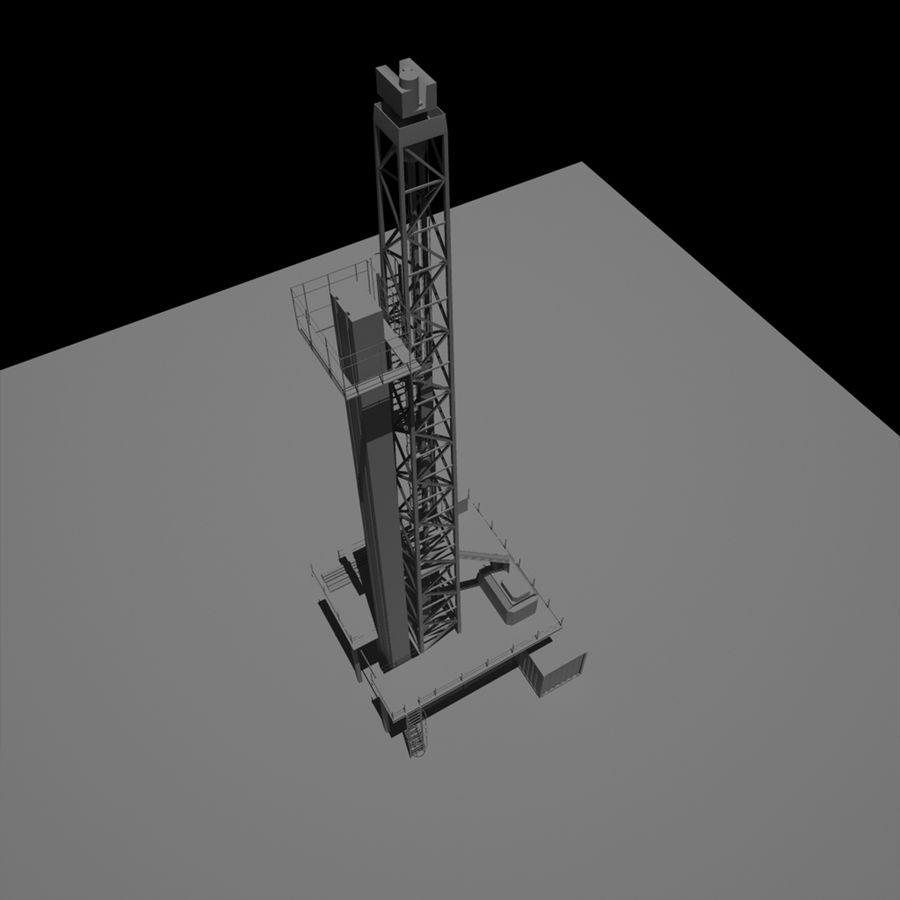Wiertarka royalty-free 3d model - Preview no. 13