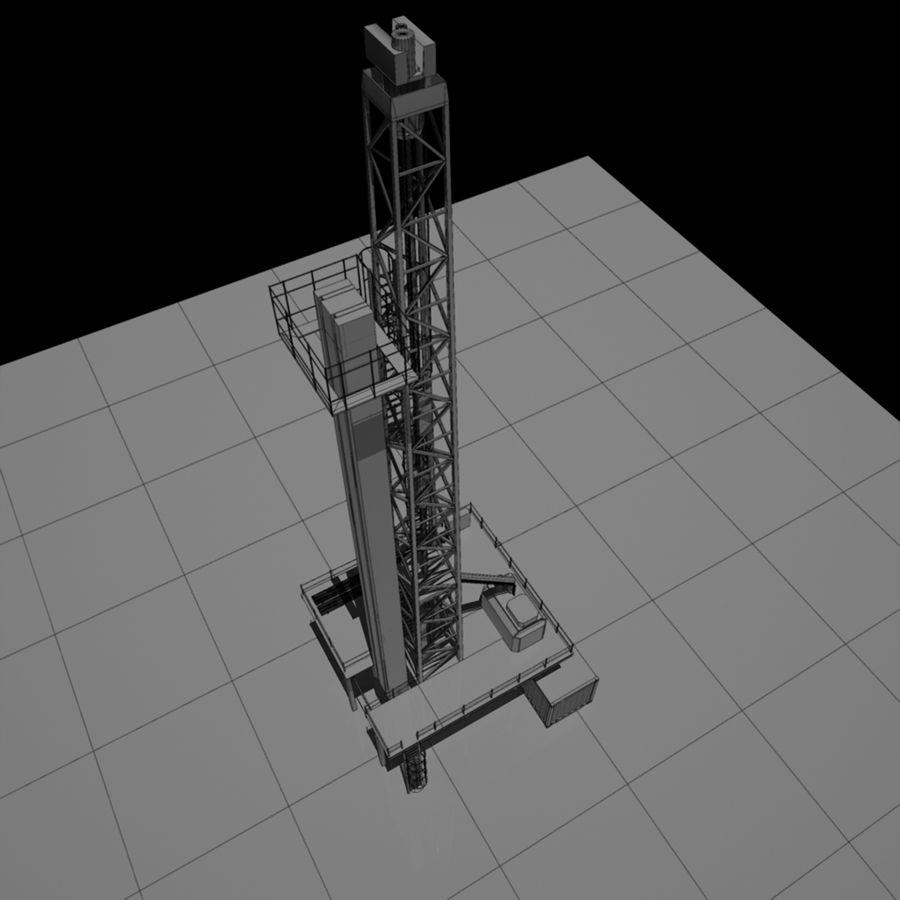 Wiertarka royalty-free 3d model - Preview no. 14