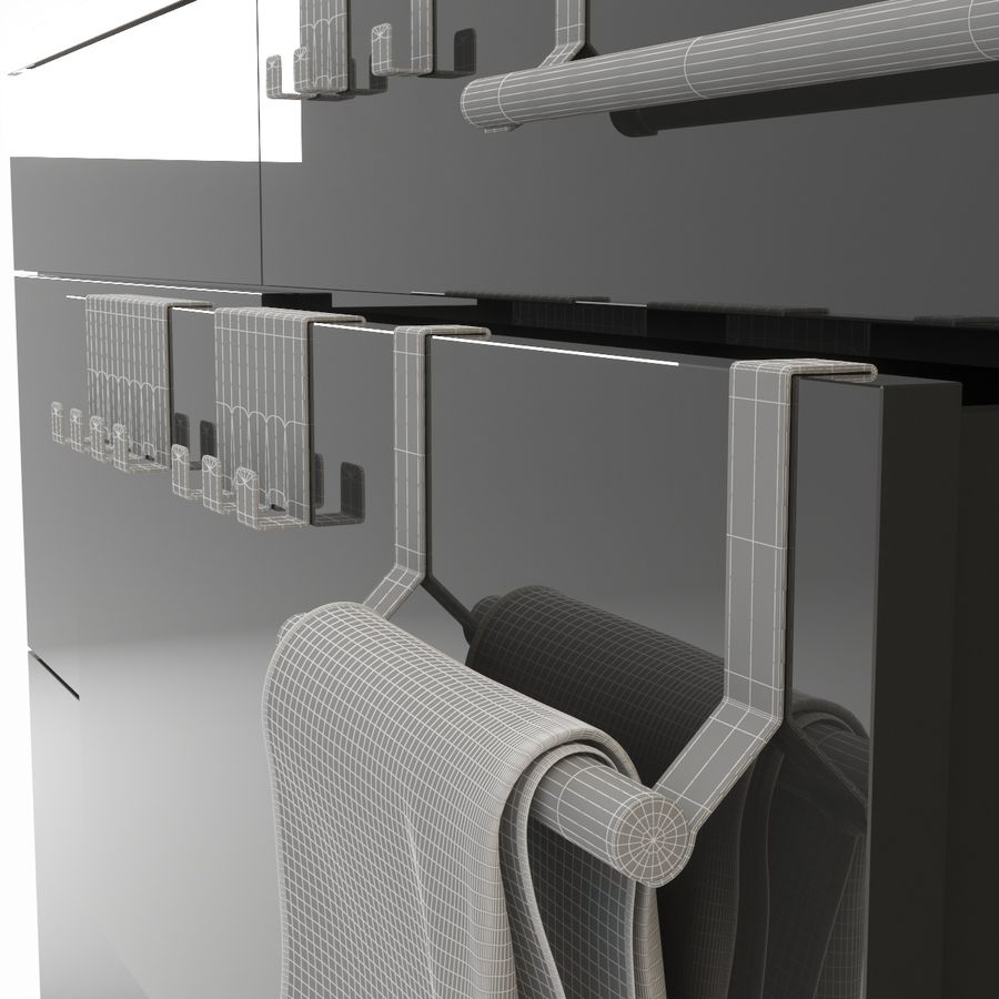 Kitchen Accessories royalty-free 3d model - Preview no. 13