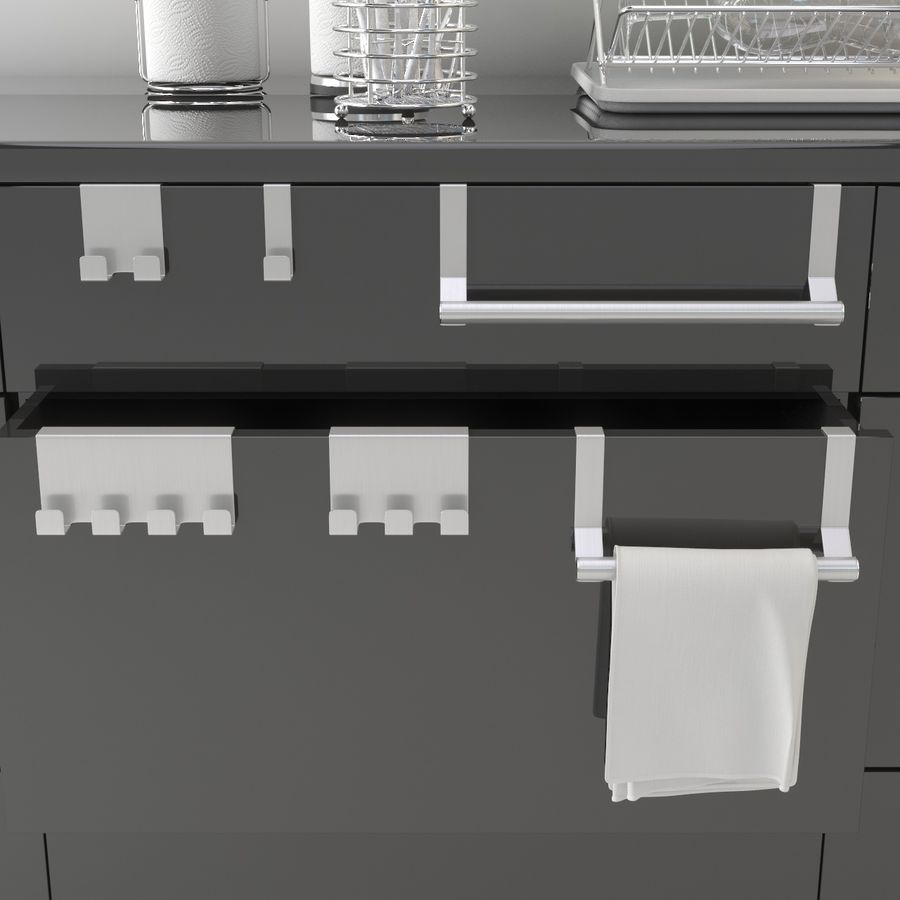 Kitchen Accessories royalty-free 3d model - Preview no. 6
