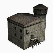 Tower house 3d model