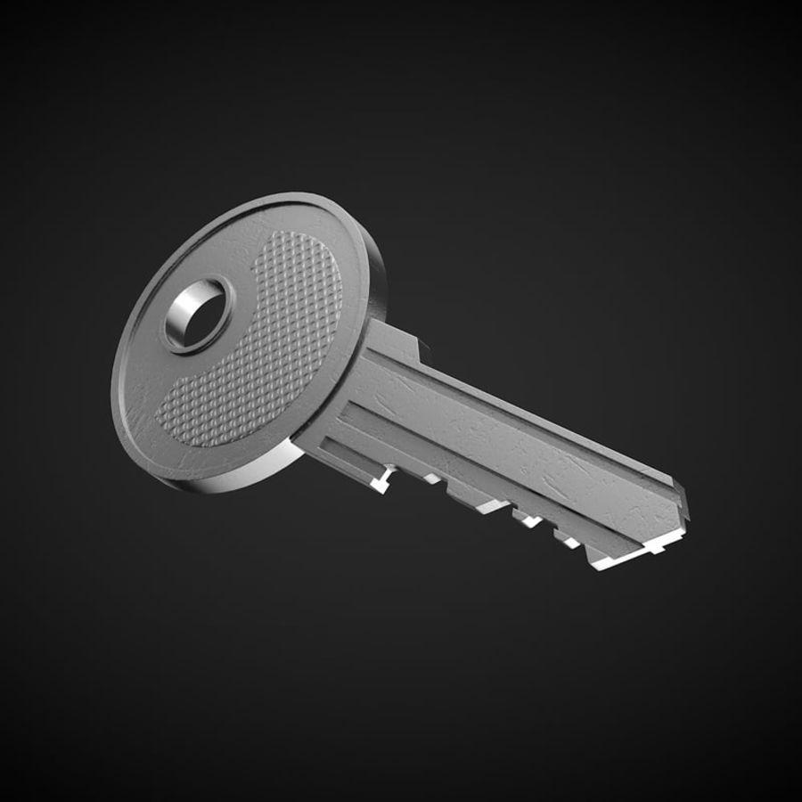 Key royalty-free 3d model - Preview no. 2