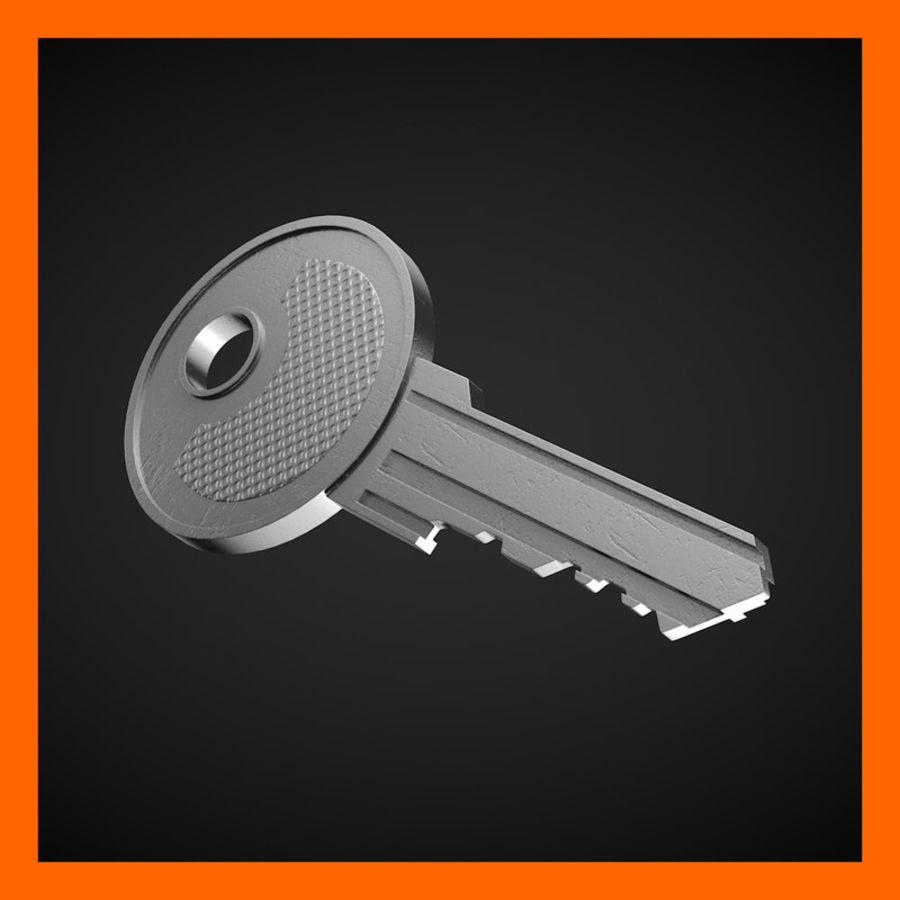 Key royalty-free 3d model - Preview no. 1