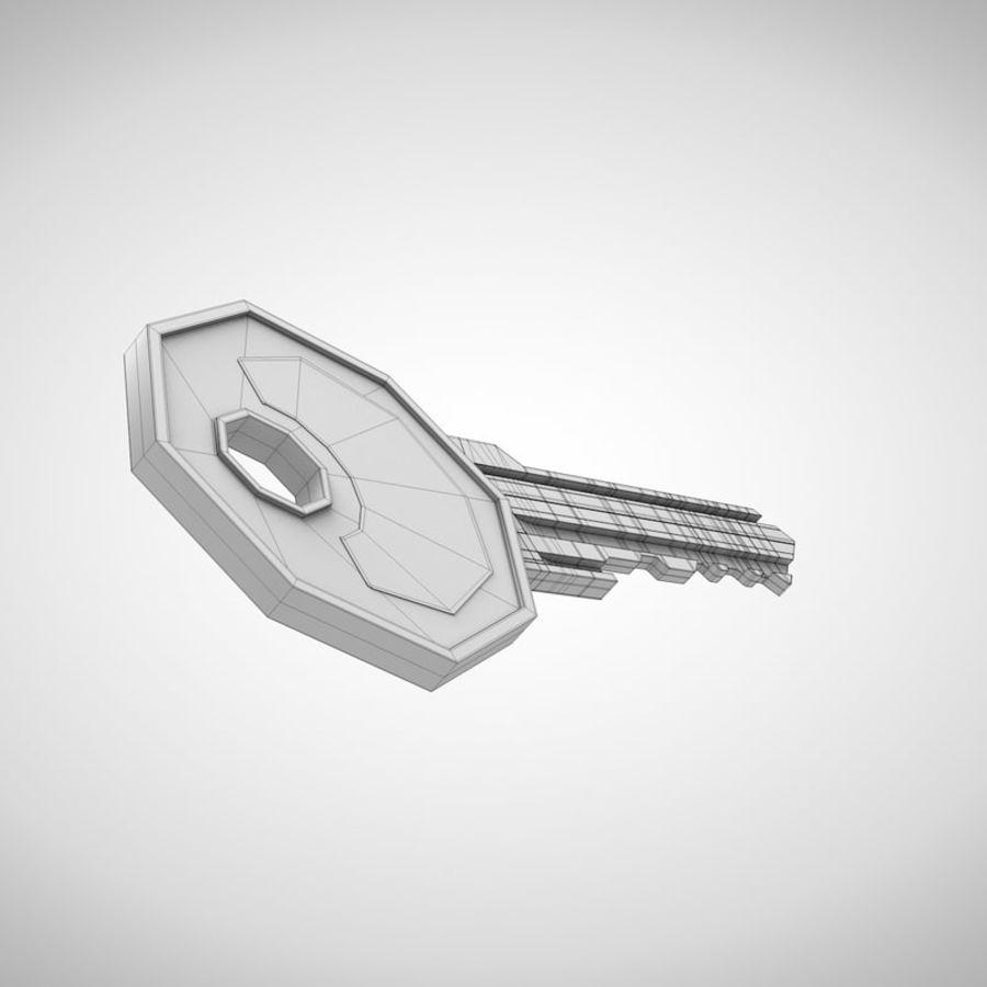 Key royalty-free 3d model - Preview no. 7