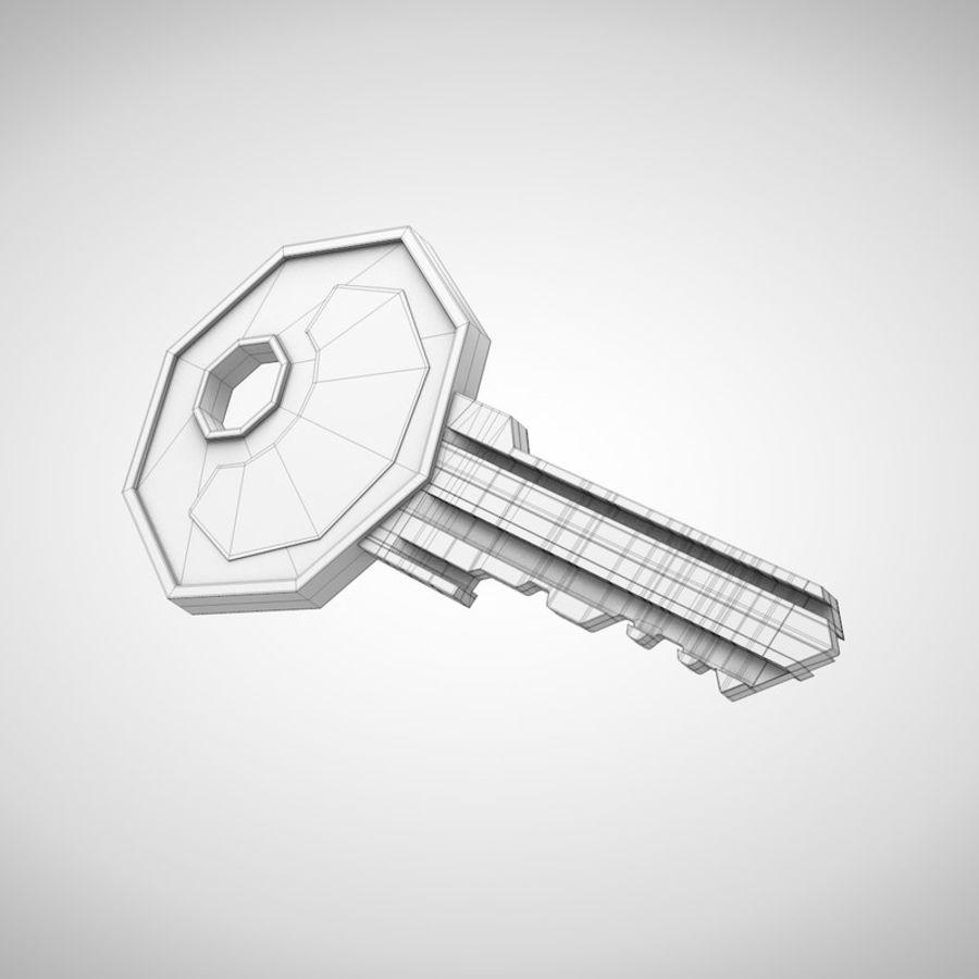 Key royalty-free 3d model - Preview no. 5