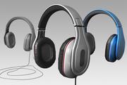 헤드폰 3d 모델 3d model