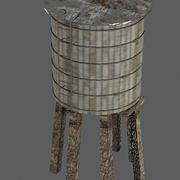 Torre de água 3d model