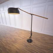 Lampe de sport contour 3d model