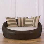 Wicker DayBed 3d model