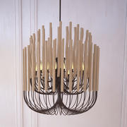 Gia Collectione Woodstick Lustre 3d model