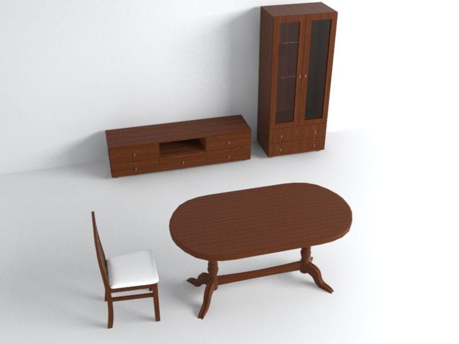 家具 royalty-free 3d model - Preview no. 1