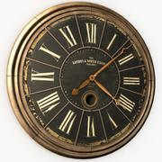 Old Wall Clock 3d model