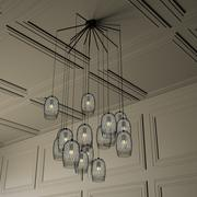 Constellation Chandelier 3d model