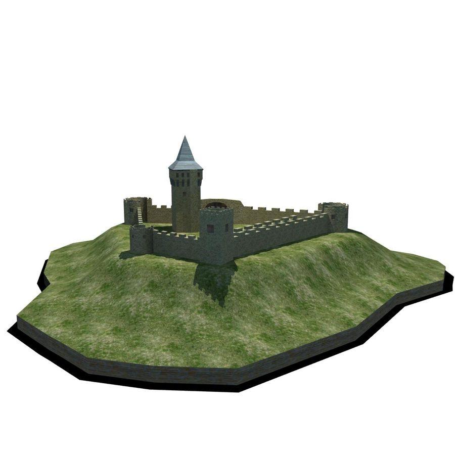 Castle 2 royalty-free 3d model - Preview no. 1
