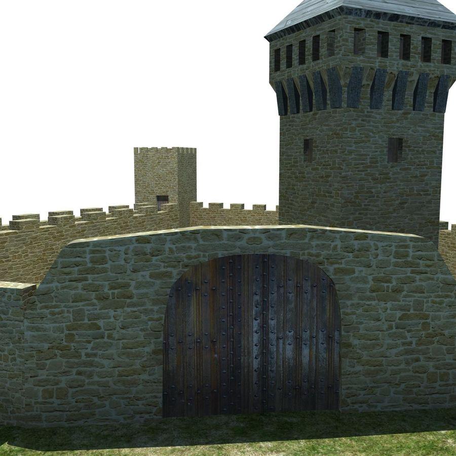 Castle 2 royalty-free 3d model - Preview no. 8