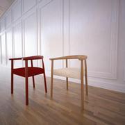 Krzesło Tokyo Poliform 3d model
