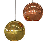 Tom Dixon light Copper 3d model