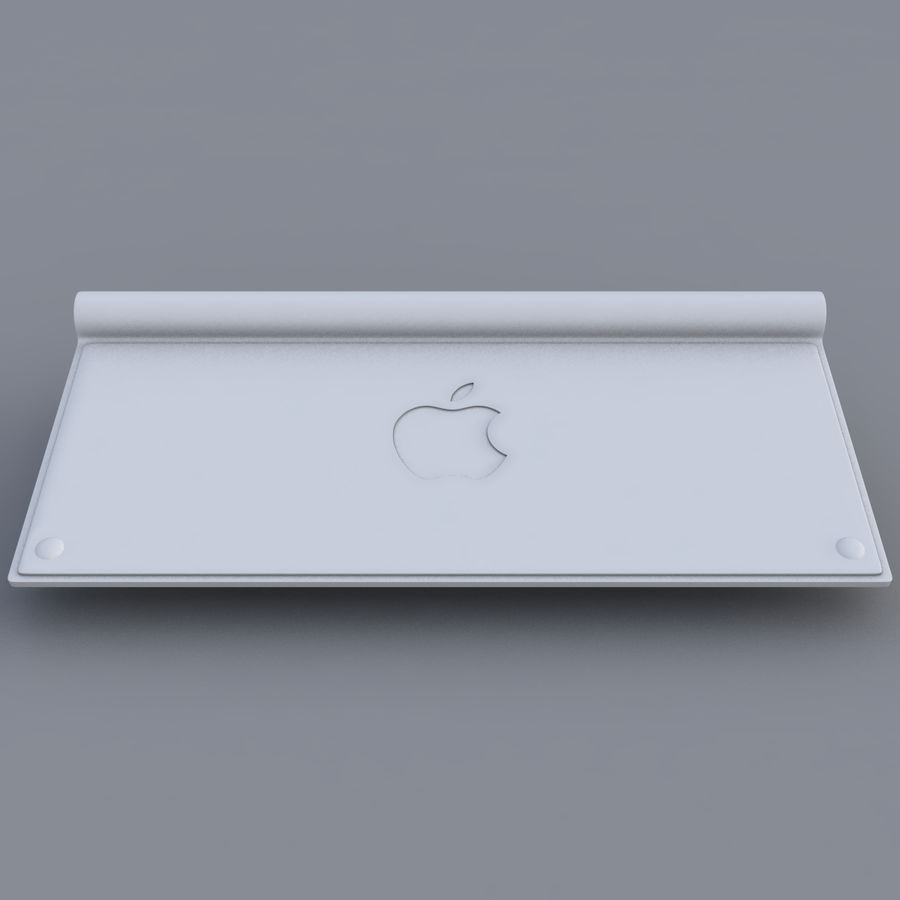 Apple Keyboard 2013 royalty-free 3d model - Preview no. 9