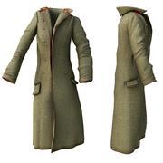 greatcoat 3d model