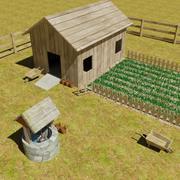 Farming Land 3d model