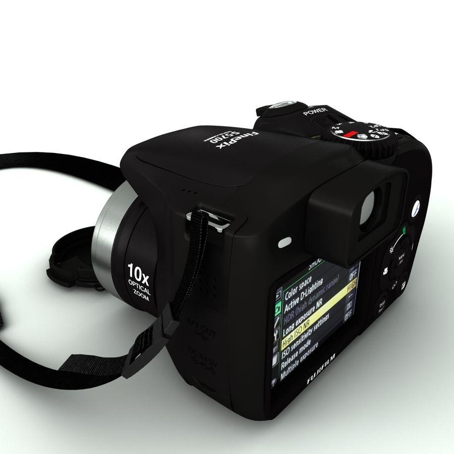 Fujifilm S5700 royalty-free 3d model - Preview no. 7
