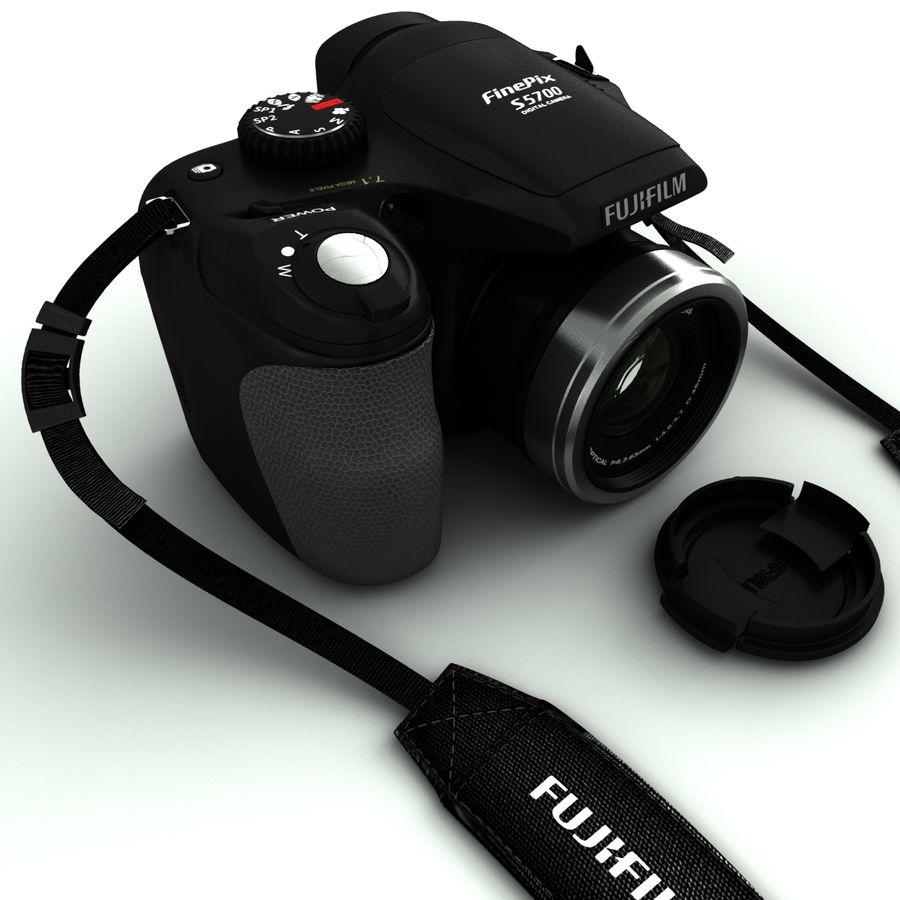 Fujifilm S5700 royalty-free 3d model - Preview no. 3