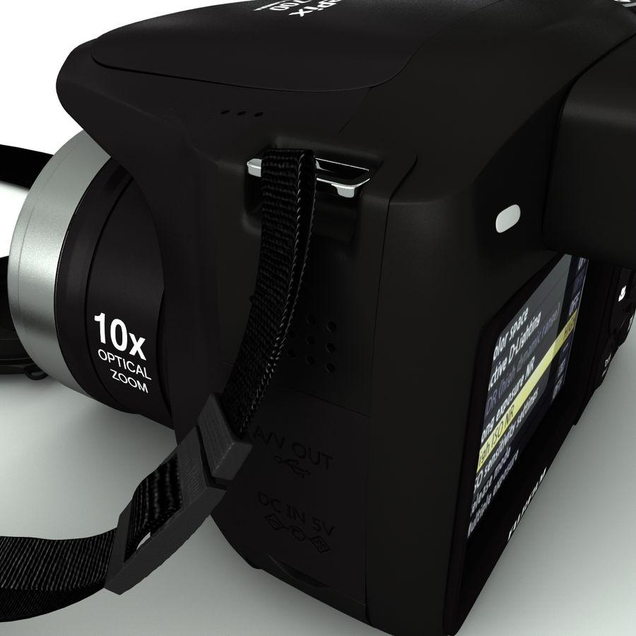 Fujifilm S5700 royalty-free 3d model - Preview no. 10