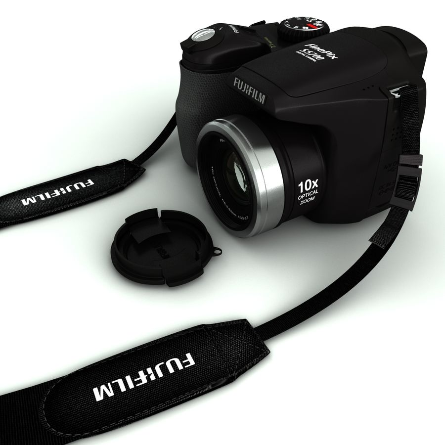 Fujifilm S5700 royalty-free 3d model - Preview no. 2