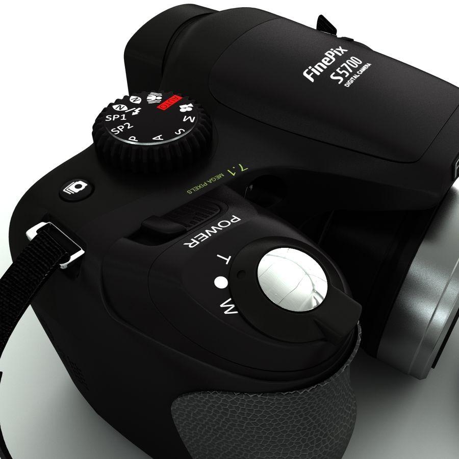 Fujifilm S5700 royalty-free 3d model - Preview no. 8