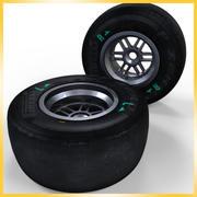 Opona Pirelli F1 2013 Hard 3d model