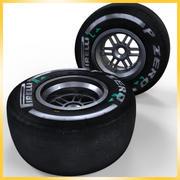 2013 F1 피렐리 타이어 미디엄 3d model