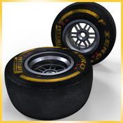 Opona Pirelli F1 2013 Soft 3d model