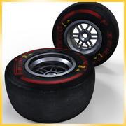 Opona Pirelli F1 2013 SuperSoft 3d model