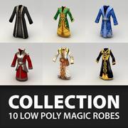 Kolekcja szat fantasy 3d model