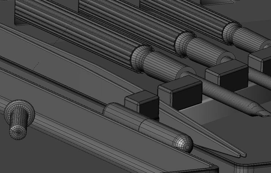 Skruvmejsel Precision Set royalty-free 3d model - Preview no. 10